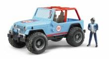 Jeep Wrangler bleu
