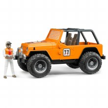 Jeep Wrangler Orange