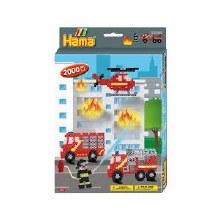 Hama - Pompiers 2000 perles