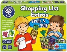 Liste des courses - Fruits et légumes