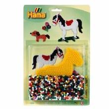 Hama - Cheval et chien 1100 perles