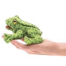Marionnette à doigt - Grenouille