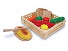 Aliments à couper en bois
