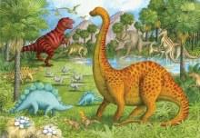 Casse-tête de plancher Dinosaures