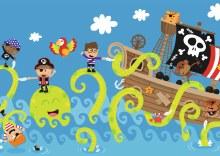 Casse-tête de plancher, 24 mcx - Les amis de l'océan