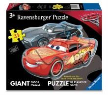 Casse-tête de plancher, 24 mcx - Cars 3