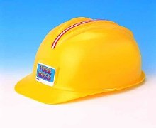Casque jaune de construction