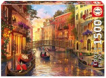 Casse-tête 1500 mcx - Coucher de soleil à Venise