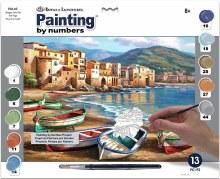 Peinture à Numéros - Ville Plage