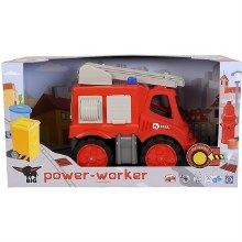 Camion de pompier power-worker