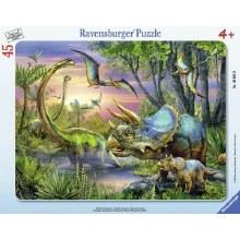 Casse-tête, 45 mcx - Paisibles dinosaures