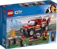 Camion de pompier de Repondant