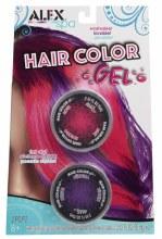 Gel couleur de cheveux