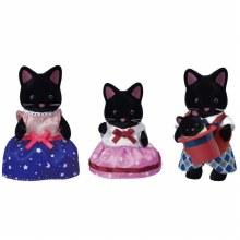 Calico Critters - Famille de Chat de Minuit