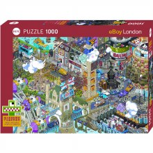 Casse-tête 1000 mcx - Eboy London Quest