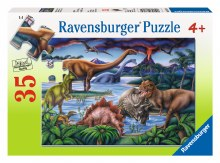 Casse-tête, 35 mcx - Jardin de dinosaures