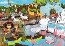Casse-tête, 35 mcx - Journée au Zoo