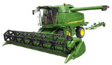 Moissoneuse Batteuse John Deere