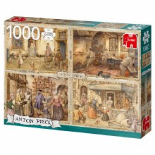 Casse-tête 1000 mcx - Anton pieck - Backers from 19th Century