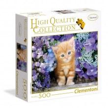 Casse-tête 500mcx - Ginger cat fleur