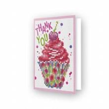 Carte Diamond Dotz - Merci