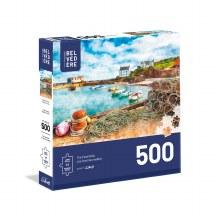 Casse-tête 500 mcx - Aquarelle Bâteau et Filet