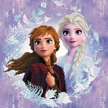Diamond Dotz - Elsa et Anna