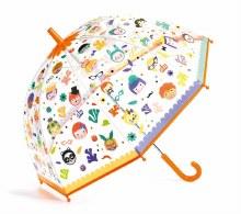 Parapluie change de couleur - Faces