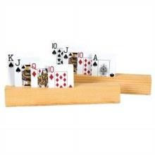 Tenneur de cartes en bois