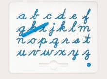 Magnatab A à Z lettres minuscules cursives