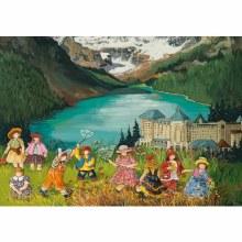 Casse-tête 1000 mcx Pauline Paquin - Lac Louise