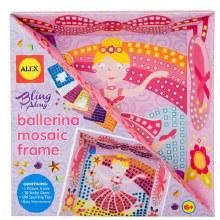 Cadre mosaïque - Ballerine