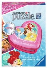 Casse-tête 3D, 54 mcx - Coeur de Disney Princesse