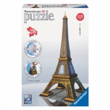 Casse-tête 3D, 216 mcx - La Tour Eiffel - Paris