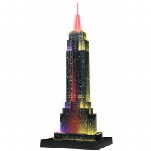 Casse-tête 3D, 216 mcx - Empire State Building Night Edition