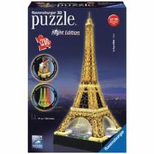 Casse-tête 3D, 216mcx - Tour Eiffel de nuit