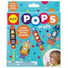 Pops Craft - Fusées sur pailles