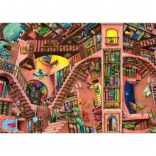Casse-tête, 500 mcx - La bibliothèque étrange