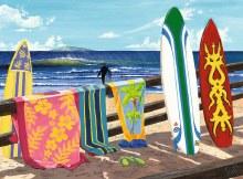 Casse-tête, 500 mcx - Surfeurs