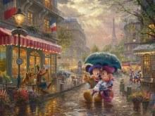 Casse-tête, 300 mcx - Thomas Kinkade - Minie et Mickey