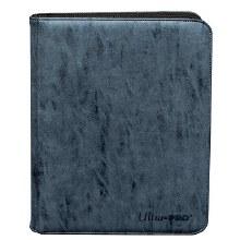 Cartable bleu avec poches protectrices
