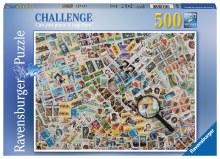 Casse-tête Défi, 500 mcx - Les timbres-poste