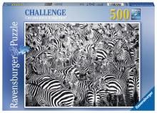 Casse-tête Défi, 500 mcx - Groupe de zèbres