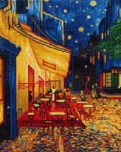 Diamond Dotz - Cafe at night