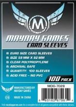 100 Protecteurs de cartes - 59mm x 92mm