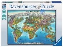 Casse-tête, 2000 mcx - Carte du monde