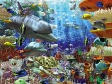 Casse-tête, 3000 mcx - Merveilles océaniques
