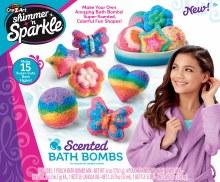 Bombes de bain parfumées