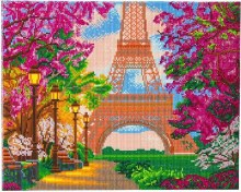 Crystal Art - Tour Eiffel - Large