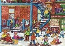 Casse-tête 1000 mcx - Plaisir d'hiver